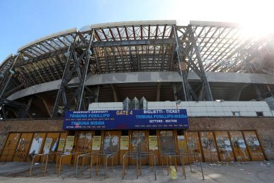 استادیوم کهنه سائوپائولو ناپل / عکس: getty images
